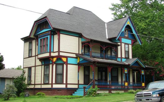 This is George F. Barber's home in Knoxville TN, 1889