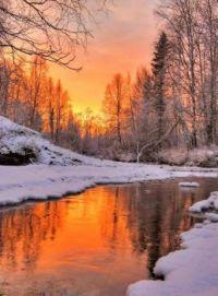 Amazing Winter Sunset....