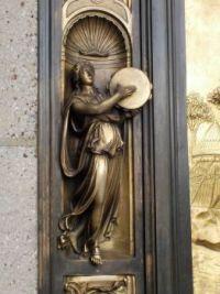 Lorenzo Ghiberti door detail 2