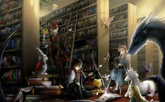 Magic Library1