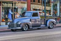 Truck on Main Street