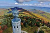 Mt.Greylock War Memorial drone photo