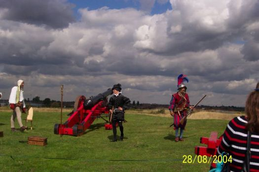 Tilbury Re-enactment