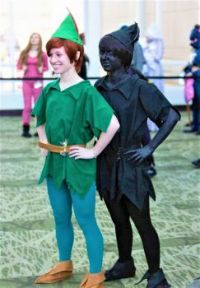 Peter Pan & His Shadow  ~  Great Costumes