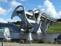 Falkirk  Wheel.  Falkirk Scotland. UK