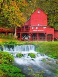 Hodgson Mill --Ozark County, Missouri....