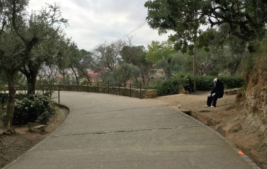 Something isn't right - Park Güell