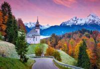 Church Maria Gern in Bavarian Alps