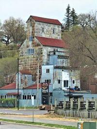 Historic Commander Grain Elevator, Stillwater, MN