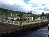 Caledonian Canal,Fort Augustus,Scotland.