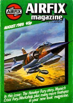 Airfix Magazine for Modellers - Volume 21 N°12 August 1980