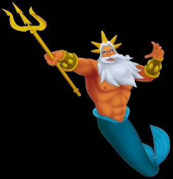 Kingdom Hearts: King Triton