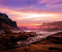 Blushing Skies - Emerald-Depths