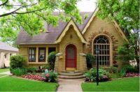 Cozy brick house