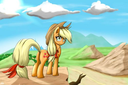 MLP: Even More Applejack by wingsoffox