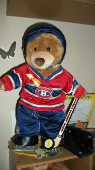 Habs Bear, Canadian's and Hockey
