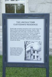 Lincoln Tomb Custodian's Residence