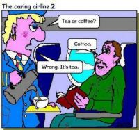 The caring airline