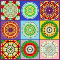 Kaleido Fun Collage: Large