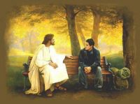 A WONDERFUL BLESSING TALKING WITH JESUS(online picture