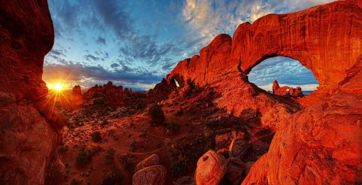 Arches Nat'l Park - photo byJim Karczewski - National Park Service