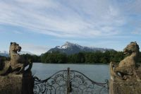 "Salzburg's Untersberg mountain and the ""Sound of Music"" lake-gate"