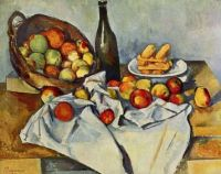 Cezanne: Still Life with Basket of Apples