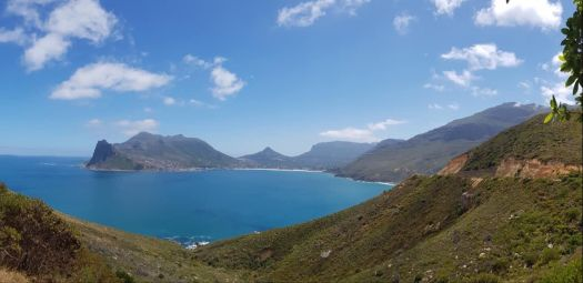 Looking Across to Hout Bay - nr Capetown