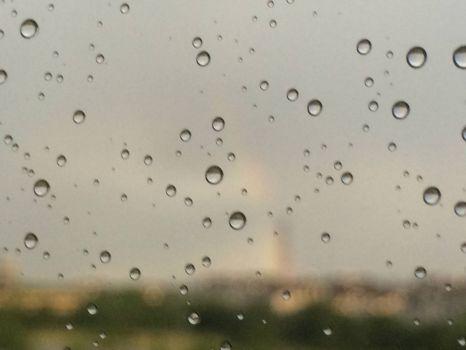 bad photography-rain on the pane