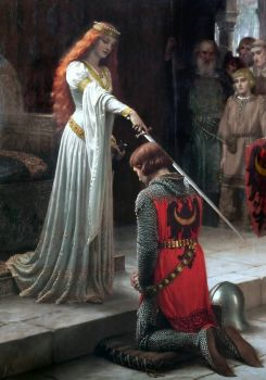 Edmund Blair Leighton's 'The Accolade' - 1852-1922