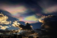 Nacreous Clouds Iceland Feb 2018