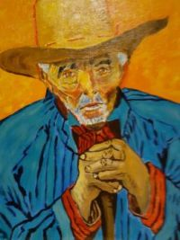 "My take on Van Gogh's ""Patience Escalier"""