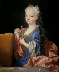 Jean Ranc Mariana Victoria of Spain, little girl 1725