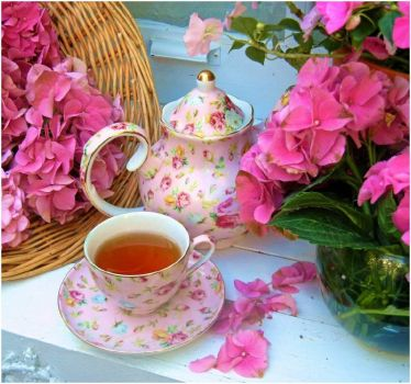 Tea in the Pink