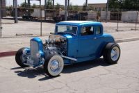 Hot Rod 1932 Ford 5 Window Coupe
