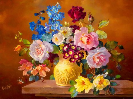 Pretty Flowers.... Rich Colors...