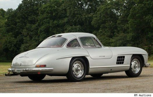 ultra rare merc gullwing selling price 2.5-3.2m