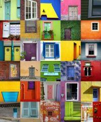 Walls, doors, windows