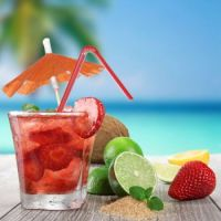 fruit-cocktail-on-a-beach