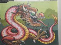 Red Dragon Mural 192