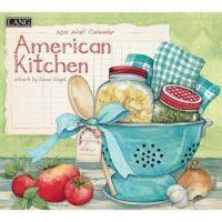 LANG 2021 Wall Calendar American Kitchen