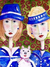Art by - Penny Day Thompson   'Lori & Mary Beth'