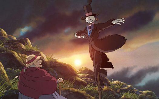 Howl's Moving Castle Sophie and Turnip Head