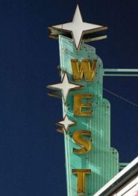 West Theater, Route 66, Grants, New Mexico.