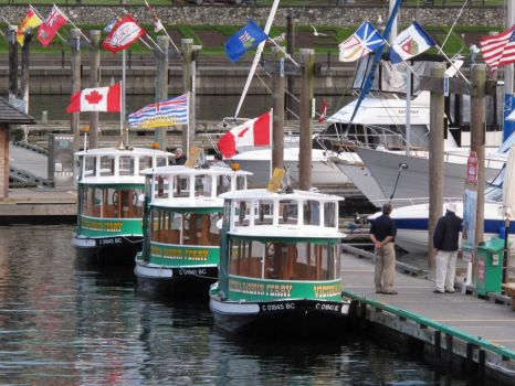 Water Taxis, Victoria, BC