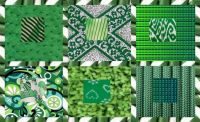 Kelly Green Patterns