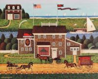 Charles Wysocki-Red Whale Inn