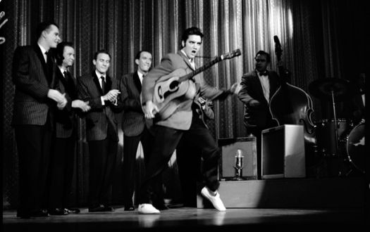Elvis on the Ed Sullivan show.