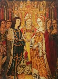 Marriage Edward IV  and Elizabeth Woodville 1464