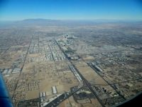 Las Vegas from above